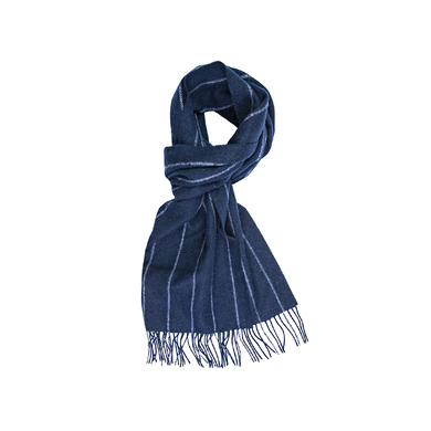 Profuomo sjaal donkerblauw steep