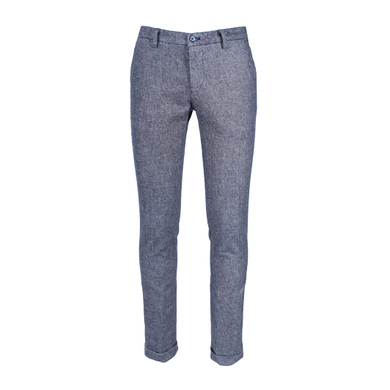 Mason's pantalon grijs wool look