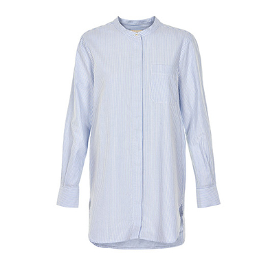 Part Two blouse blauw streep