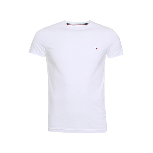 Tommy Hilfiger stretch slim fit t-shirt White