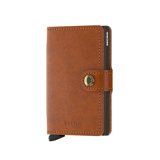 Secrid Wallet original mini Cognac