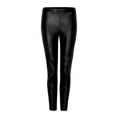 comma legging leather look