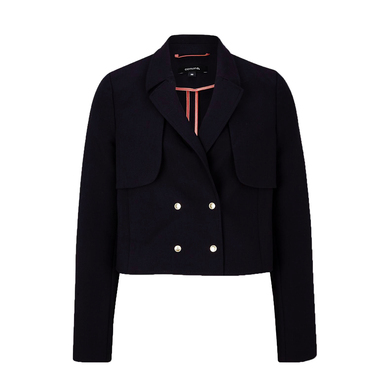 Comma blazer kort navy