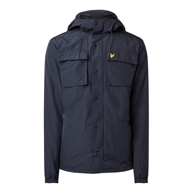 Lyle & Scott pocket jacket donker blauw