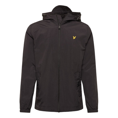 Lyle & Scott jacket Hooded jacket zwart