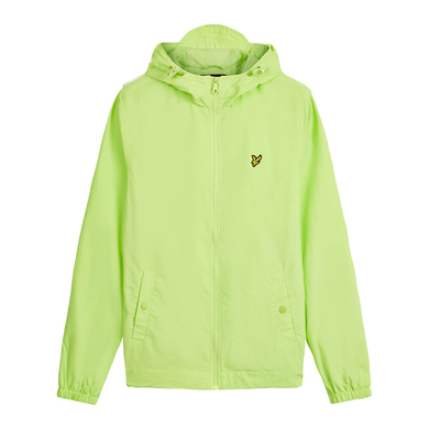 Lyle & Scott jacket Hooded jacket licht groen