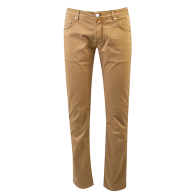 Jacob Cohën 5-pocket katoen camel