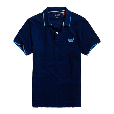 Superdry M-Knit Polo Korte Mouwen