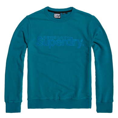 Superdry M-Knit Sweat/Hood of Cotton