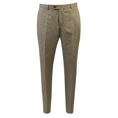 Duetz 1857 linnen mix & match pantalon groen