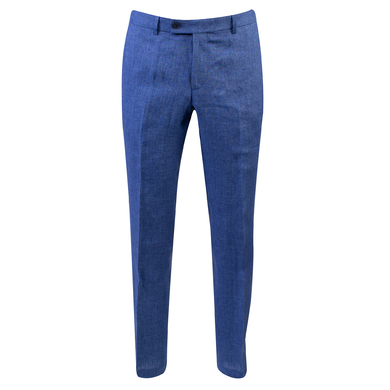 Duetz 1857 linnen mix & match pantalon blauw