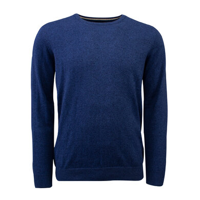 Duetz 1857 ronde hals trui in Cotton Cashmere