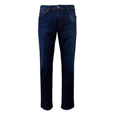 Duetz Tailors 1857 5-pocket jeans in stretch Donkerblauw