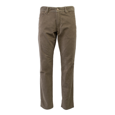 Duetz Tailors 1857 5-pocket jeans in stretch mini cord Beige