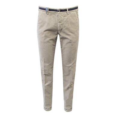Mason's Chino Minirib Stretch Beige