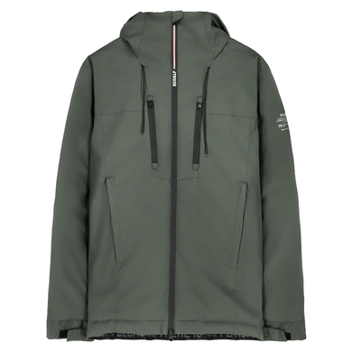 Ecoalf Parka Kort met Capuchon Gerecycled Polyester