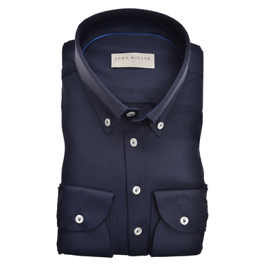 John Miller overhemd uni button-down