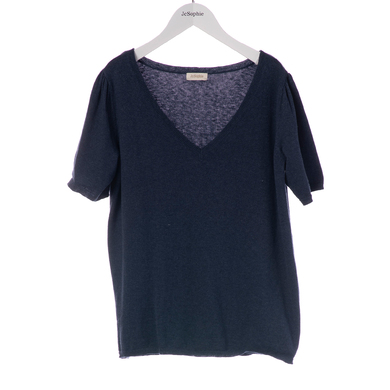JC Sophie sweater Giverny donkerblauw