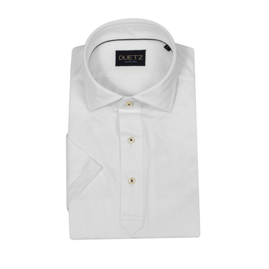 Duetz 1857 shirt-polo wit