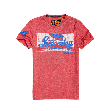 Superdry T-shirt icarus Rood