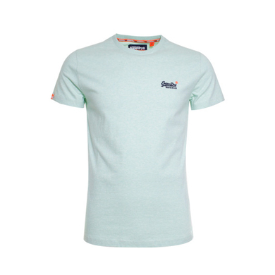Superdry T-shirt vintage mint groen