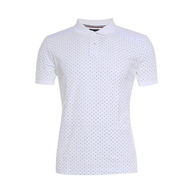 Tommy Hilfiger polo met micro print