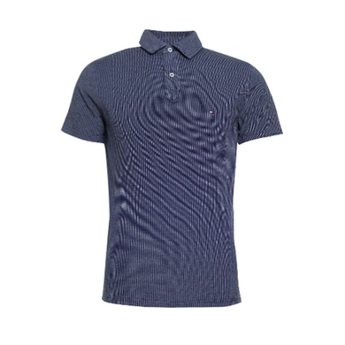 Tommy Hilfiger polo met structuur