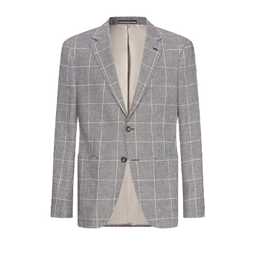 Tommy Hilfiger Tailored Blazer geruit Bruin